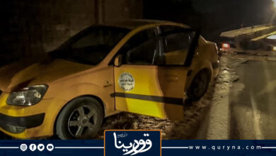 Photo of العثور على سيارة تاكسي سرقت صباح اليوم فى سطو مسلح