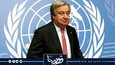 Photo of «الأمين العام للأمم المتحدة»: ندعم عملية الانتقال التي يقودها الليبيون