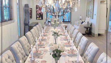 "Photo of ""قورينا"" أختارت لكم مجموعة من التصميمات الرائعة لغرف الطعام"