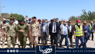 Photo of الشهوبي يتفقد مطار طرابلس استعداداً لبدء العمل بإزالة الألغام