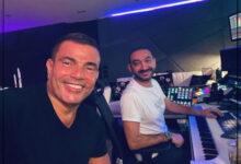Photo of من الاستديو.. عمرو دياب يكشف عن عمل فني جديد مع نادر حمدي