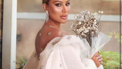 "Photo of ""مايا دياب""  عروس في أحدث جلسة تصوير لها"