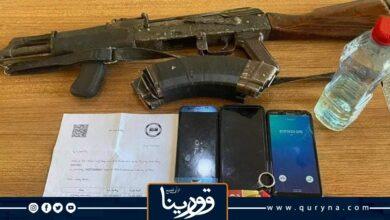 Photo of مديرية أمن بنغازي تضبط مخمورًا بحوزته سلاح كلاشنكوف