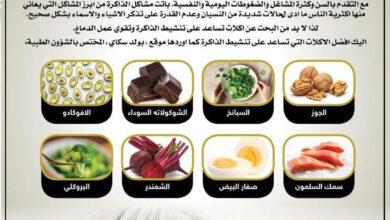 Photo of أفضل الأطعمة لتنشيط الذاكرة