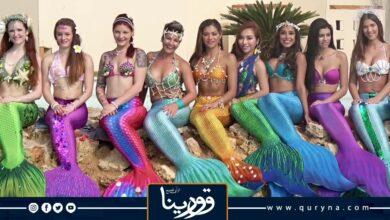Photo of عرض راقص لحوريات البحر يحطم الأرقام القياسية ويدخل موسوعة جينيس