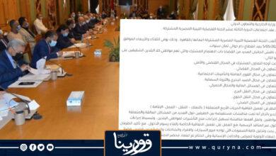 Photo of اللجنة القنصلية الليبية المصرية المشتركة تبدأ أعمالها بالقاهرة بعد انقطاع دام لسنوات.