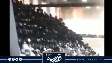 Photo of فيديو.. لحظة إنهيار مدرج فى كنيس يهودى بالقدس المحتلة وإصابة 60 شخصًا