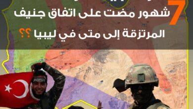 Photo of 7 شهور مضت على اتفاق جنيف ولم يغادر أحد.. المرتزقة إلى متى في ليبيا؟؟