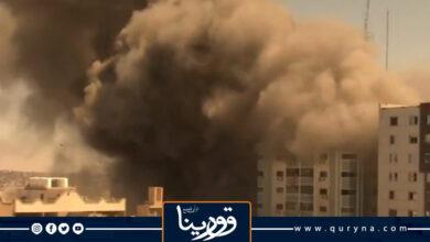 Photo of مراسل «أسوشييتد برس» يكشف لحظات مرعبة قبل تدمير برج الجلاء