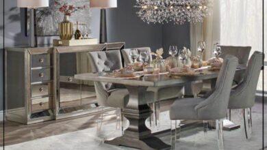 """Photo of """"قورينا"""" أختارت لكم مجموعة من التصميمات لغرفة طعام مميزة بمنزلك"""