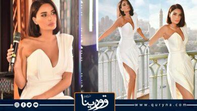 Photo of سيرين عبدالنور تتألق بفستان أبيض في مصر