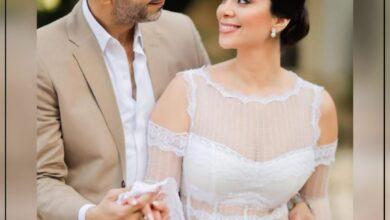 Photo of عقد قران محمد فراج وبسنت شوقى بحضور عدد كبير من نجوم الفن.
