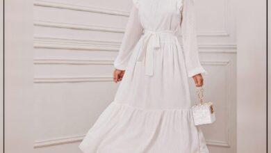 "Photo of ""قورينا"" أختارت لكم مجموعة من الفساتين الكلاسيكية من الشيفون لإطلالة أنثوية ناعمة"