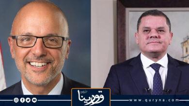 Photo of «الدبيبة» يبحث مع عضو الكونغرس «تيد دويتش» الاستعداد للانتخابات القادمة