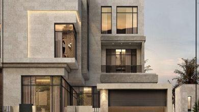 """Photo of """"قورينا"""" أختارت لكم تصميمات مميزة لواجهات منازل عصرية"""