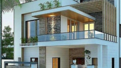 "Photo of ""قورينا"" أختارت لكم مجموعة من التصميمات المميزة لواجهات المنازل"