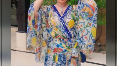Photo of إلهام شاهين تتألق في أحدث ظهور لها بأسبوع الموضة من المغرب