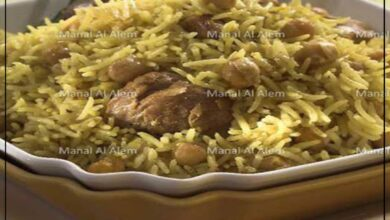 Photo of طريقة عمل الرز  بالدجاج بالحمص