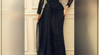 "Photo of ""قورينا"" أختارت لكم مجموعة من الأزياء المميزة باللون الأسود لإطلالة أنثوية ملكية"