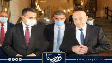 Photo of «صالح» يؤكد  لـ «دي مايو» وفاء مجلس النواب بالتزاماته السياسية وتطلعه لدعم إيطاليا تحقيق مطالب الشعب الليبي