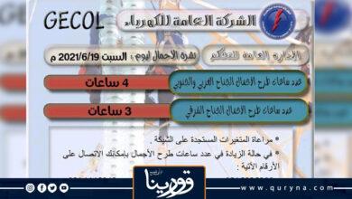 Photo of شركة الكهرباء: طرح الأحمال من ثلاث ساعات لـ أربع ساعات