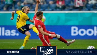 Photo of «السويد» تُطيح بـ «بولندا» في مباراة مجنونة بيورو 2020
