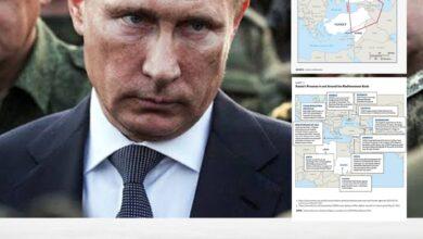 """Photo of الجزء الثاني.. """"كارنيجي أوروبا التابع للخارجية الأمريكية""""  بالخرائط والصور// روسيا تُطوق الغرب والناتو انطلاقًا من المتوسط وقواعدها في ليبيا وسوريا 2-2"""