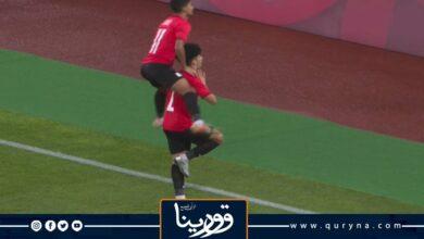 Photo of لاعب مصري يخطف الأضواء بــ «أولمبياد طوكيو» باحتفاله على طريقة صلاح