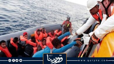 Photo of إنقاذ 121 مهاجرًا من جنسيات إفريقية مختلفة