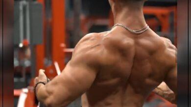 Photo of تمرين لتقوية عضلات  الضهر