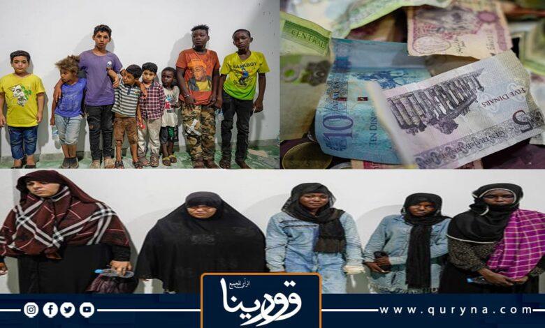 Photo of ضبط شبكة تستخدم الأطفال في التسول بمُفترقات وشوارع بنغازي
