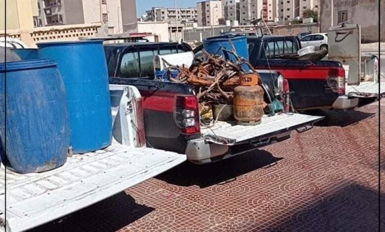 Photo of درنة : تاجر ممنوعات يحول منزلة لمصنع خمر والبحث الجنائي يوقع به