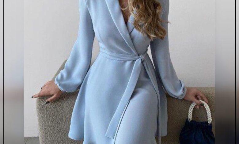 "Photo of ""قورينا"" أختارت لكي مجموعة من الأزياء الرسمية الأنثوية لإطلالة راقية ومميزة"
