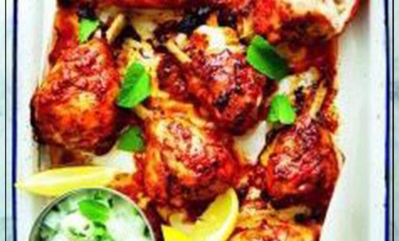 Photo of طريقة عمل تندوري الدجاج مع صلصة الـرايتا