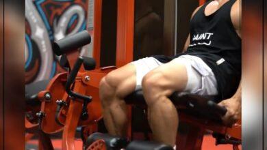 Photo of تمارين لتقوية عضلات الساق