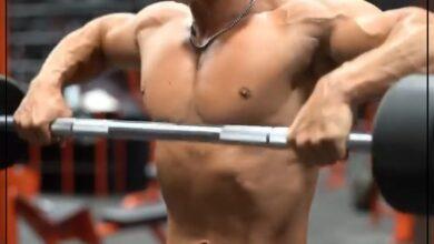 Photo of مجموعة تمارين لتقوية عضلات الأكتاف