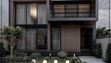 "Photo of ""قورينا"" أختارت لكم مجموعة من التصميمات الهندسية المميزة لواجهات المنازل"