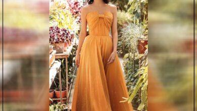 "Photo of ""قورينا"" أختارت لكي مجموعة من التصميمات المميزة لفساتين ناعمة وإطلالة جذابة"