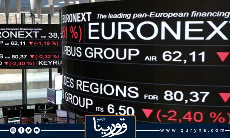 Photo of الأسهم الأوروبية تهبط بفعل مخاوف من السلالة دلتا