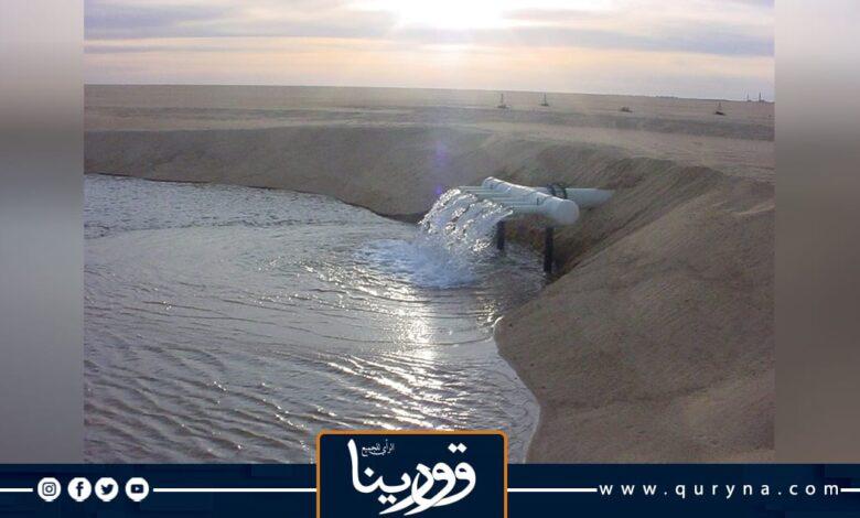 Photo of إدارة النهر الصناعي العظيم تبدأ صيانة الخط المتضرر في منطقة أوجلة