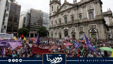 Photo of احتجاجات فى البرازيل تطالب بعزل الرئيس جايير بولسونارو