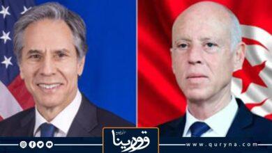 Photo of سعيّد لـ بلينكن: الإجراءات التي تم اتخاذها تتوافق مع الدستور التونسي
