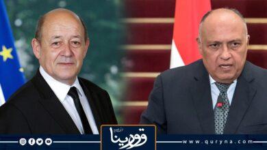 Photo of وزيرا الخارجية المصري والفرنسي يبحثان تطورات الأوضاع في تونس ولبنان