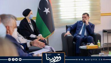 Photo of «الدبيبة» يناقش ملف الهجرة غير الشرعية والأحداث بتونس مع وزيرة الداخلية الإيطالية